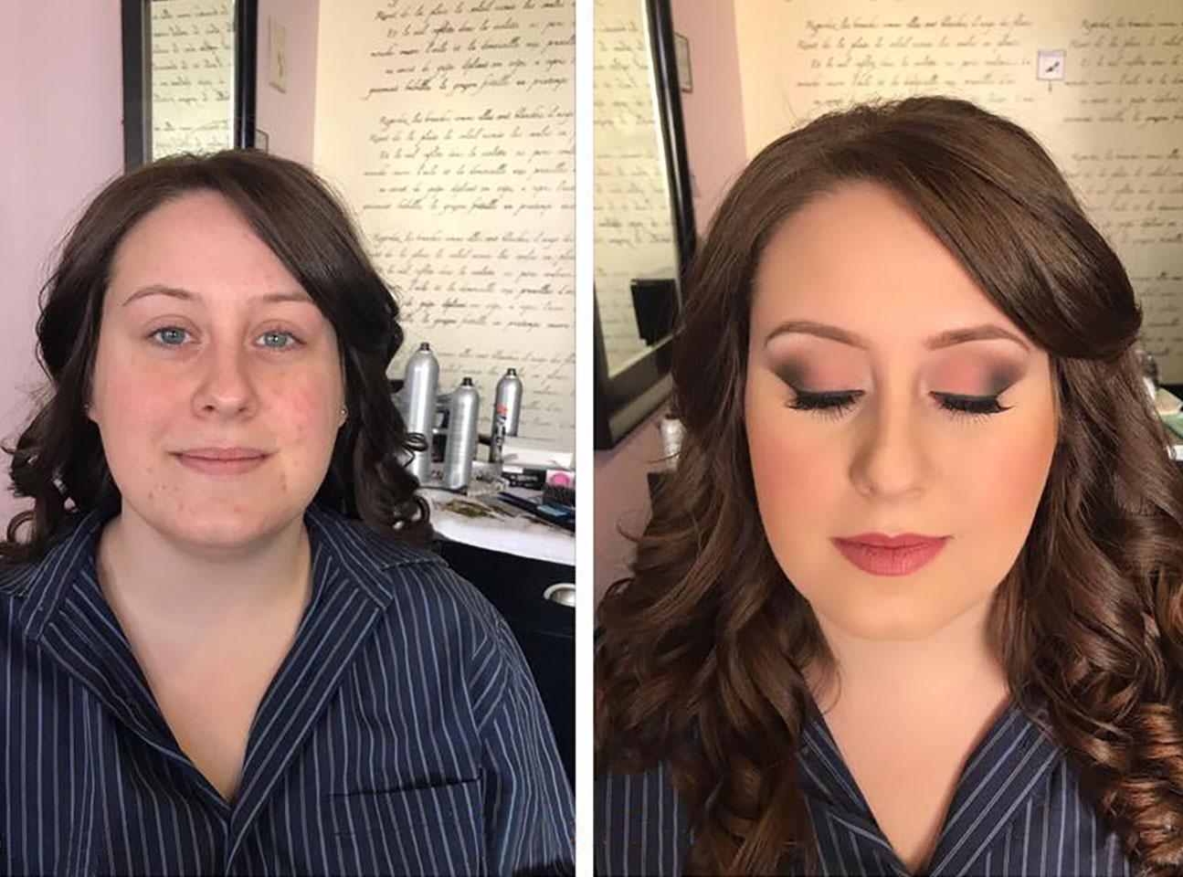 Madame Makeup On Location - Before & After Transformations